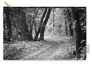 Curving Trail Entering Deciduous Forest Carry-all Pouch