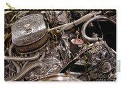 Custom Car Chromed Engine Carry-all Pouch