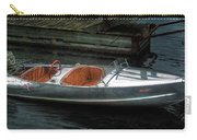 Cute Boat - 1948 Feather Craft Carry-all Pouch