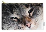Cute Cat Close-up Portrait Carry-all Pouch
