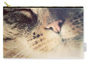 Cute Small Cat Portrait Carry-all Pouch