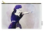 Cyd Charisse, Actress And Dancer Carry-all Pouch