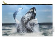 Dances With Whales Carry-all Pouch