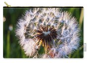 Dandelion In Nature Carry-all Pouch