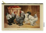 Dark And Light Brahma Bantams Carry-all Pouch
