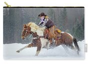 Dashing Through The Snow Carry-all Pouch
