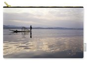 Dawn On Inle Lake Carry-all Pouch