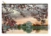 Dc Cherry Blossoms Carry-all Pouch