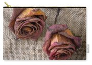 Dead Roses Carry-all Pouch