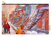 Debullion Street Winter Walk Carry-all Pouch