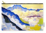 Dents Du Midi In Clouds Carry-all Pouch