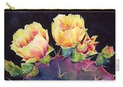 Desert Bloom 2 Carry-all Pouch by Hailey E Herrera