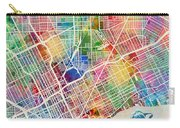 Detroit Michigan City Map Carry-all Pouch