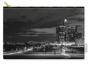 Detroit River Walk Panorama Carry-all Pouch