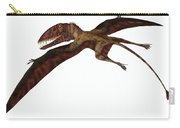 Dimorphodon On White Carry-all Pouch