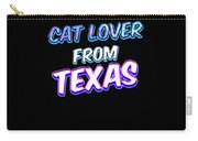 Dog Lover From Texas Carry-all Pouch