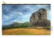 Dolbadarn Castle Carry-all Pouch by Adrian Evans