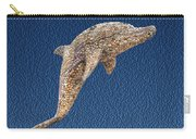 Dolphin Shell Art Sculpture Carry-all Pouch