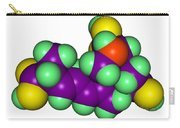 Domoic Acid Molecular Model Carry-all Pouch