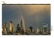Double Rainbow Over The City Of London Carry-all Pouch