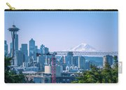Downtown Cityscape View Of Seattle Washington Carry-all Pouch