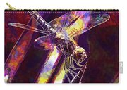 Dragonfly Insect Close  Carry-all Pouch