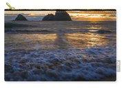 Dramatic Sunset Oregon Coast Usa Carry-all Pouch