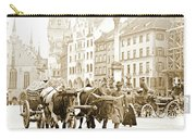 Dresden, Altmarkt Square, Germany, 1903 Carry-all Pouch