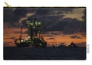 Drill Rig At Dusk Carry-all Pouch