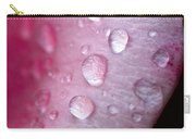 Droplets On Pink Carry-all Pouch