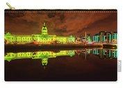 Dublin's Custom House In Green Carry-all Pouch