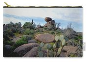 Dusk In The Desert Carry-all Pouch