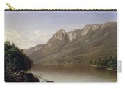 Eagle Cliff At Franconia Notch In New Hampshire Carry-all Pouch by David Johnson