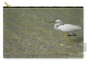 Eastern Great Egret In Florida Carry-all Pouch