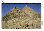 Egypt's Pyramids Of Giza Carry-all Pouch