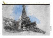 Eiffel Tower Of Paris Carry-all Pouch