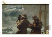 Eight Bells Carry-all Pouch by Winslow Homer