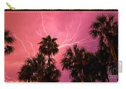 Electrified Palms Carry-all Pouch