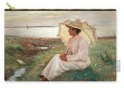 Elegant Lady By The Sea Carry-all Pouch