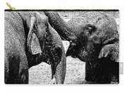 Elephants At Play Carry-all Pouch