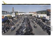 Elevated Panoramic View Of Main Street Carry-all Pouch