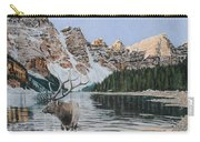 Elk In Moraine Lake Carry-all Pouch