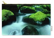 Elowah Falls Columbia River Gorge National Scenic Area Oregon Carry-all Pouch