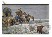 Emigrants, 1874 Carry-all Pouch by Granger