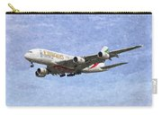 Emirates A380 Airbus Oil Carry-all Pouch