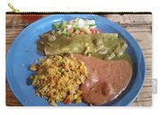 Enchilada Entree'  Carry-all Pouch