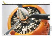 Engine And Propellers Of Aircraft Close Up Carry-all Pouch