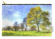 English Summer Farm Art Carry-all Pouch