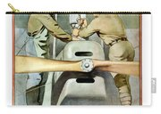 Mechanical Training - Enlist In The Air Service Carry-all Pouch