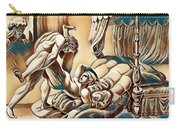 Erotic Abstract Three Carry-all Pouch